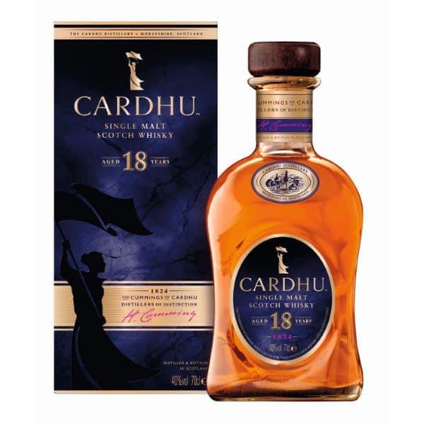 Cardhu 18y 40% 0,7l