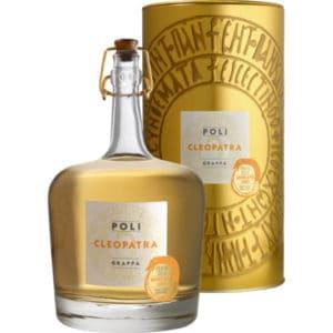 Poli Grappa Cleopatra Moscato Oro + GB 40% Vol. 0,7l Grappa Cleopatra