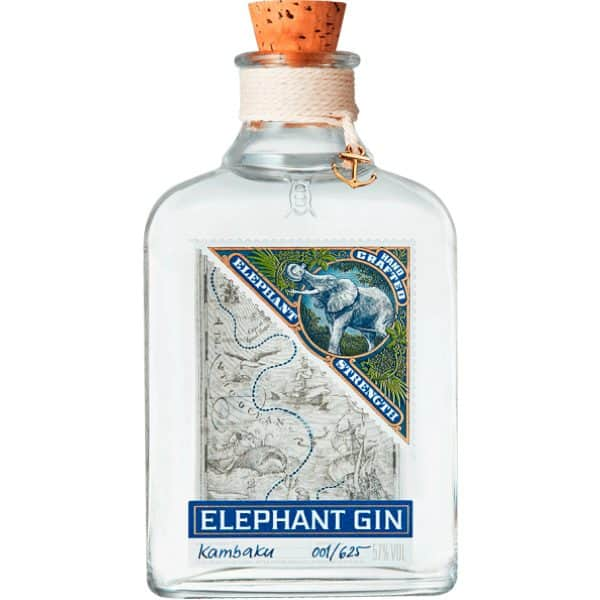 Elephant Strength Gin 57% Vol. 0,5l Gin Elephant Cask Strength Gin