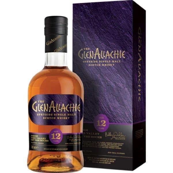 GlenAllachie 12y + GB 46% 0,7l