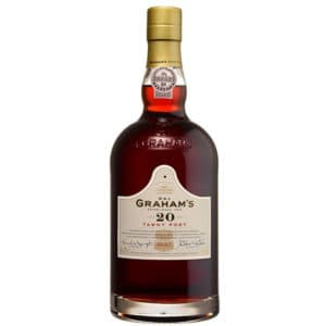 Tawny Port 20Y + GB 20% Vol. 0,75l Portwein Graham's