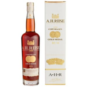 A.H. Riise 1888 Copenhagen Gold Medal Rum + GB 40% 0,7l Rum A.H.Riise