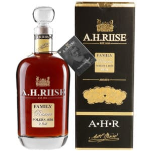A.H. Riise Family Reserve + GB 42% 0,7l Rum A.H.Riise