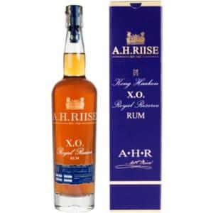 A.H. Riise Kong Haakon + GB 42% Vol. 0,7l Rum A.H.Riise