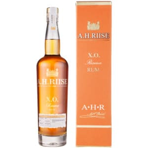 A.H. Riise X.O. Reserve + GB 40% 0,7l Rum A.H.Riise