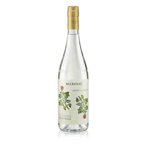 Marolo Grappa di Barolo Bussia + GB 45% Vol. 0,7l Grappa Distilleria Santa Teresa