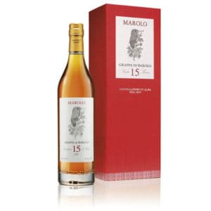 Marolo Grappa di Barolo 15y + GB 50% Vol. 0,7l Grappa Distilleria Santa Teresa