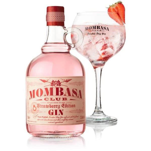Mombasa Club Strawberry Gin 37,5% Vol. 0,7l
