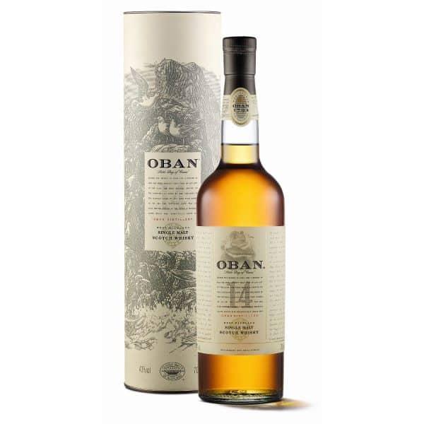Oban 14y + GB 43% Vol. 0,7l