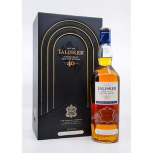 Talisker 40y Bodega Series + GB 50% Vol. 0,7l Raritäten Isle of Skye