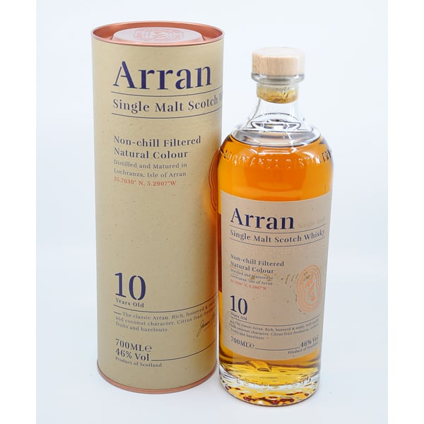 The Arran Malt 10y + GB 46% Vol. 0,7l