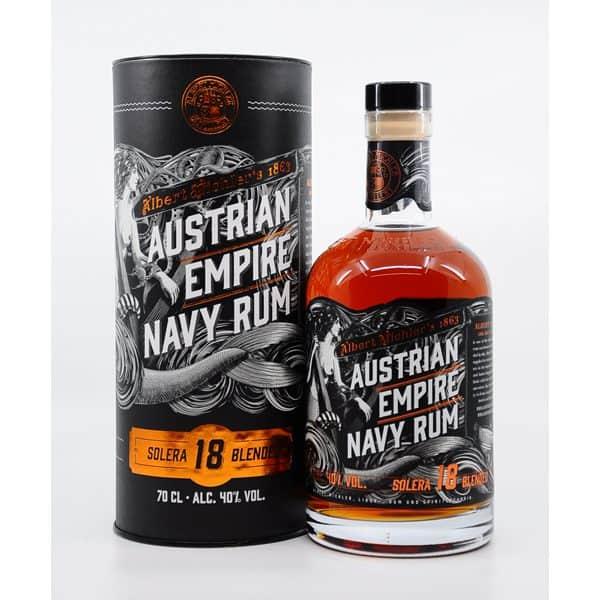 Austrian Empire Navy 18y + GB 40% Vol. 0,7l