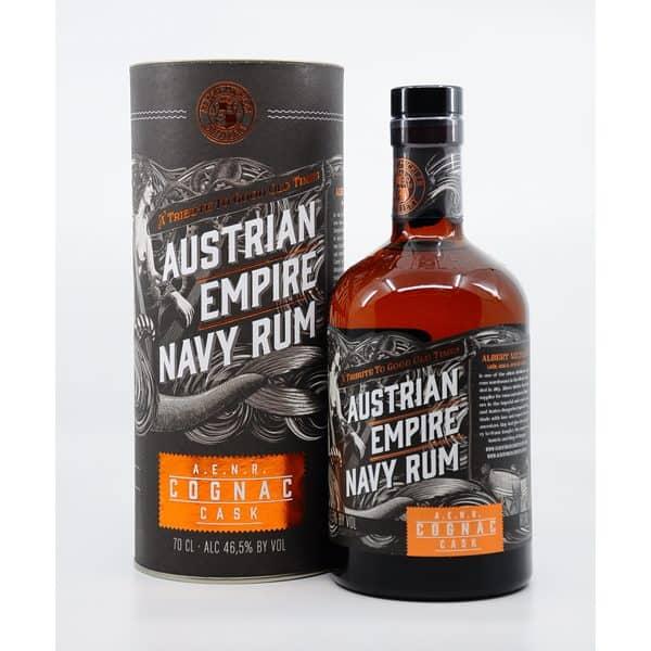 Austrian Empire Navy Cognac Cask + GB 46,5% Vol. 0,7l