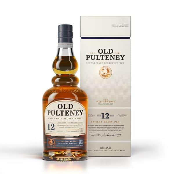 Old Pulteney 12y + GB 40% Vol. 0,7l