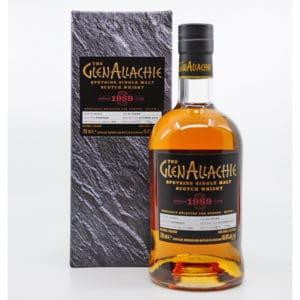 GlenAllachie 1989 + GB 45,8% Vol. 0,7l Raritäten Glenallachie
