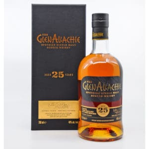 GlenAllachie 25y + GB 48% Vol. 0,7l Raritäten Glenallachie