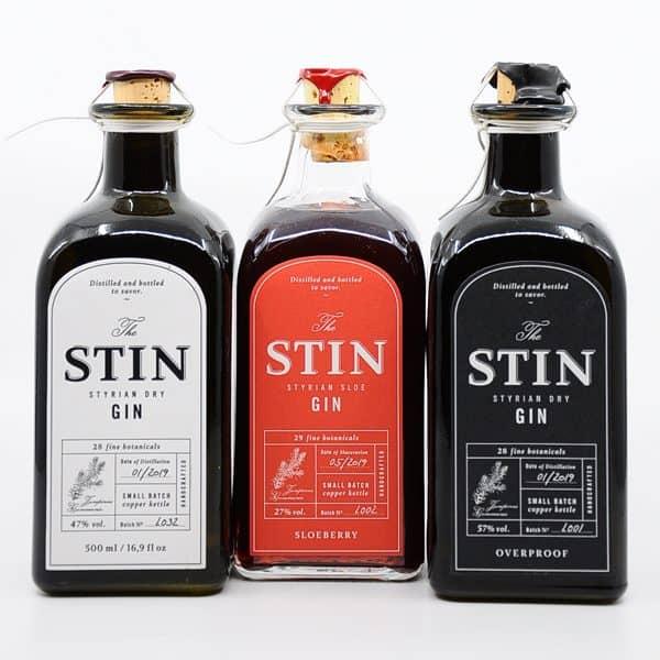 STIN Gin Trilogie