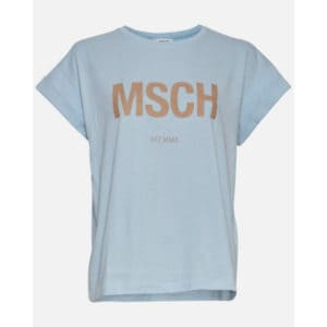 Alva MSCH STD Tee Blau Angebote DRESS Moss Copenhagen