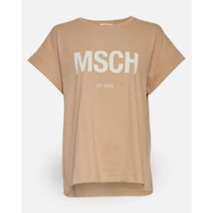 Alva MSCH STD Tee Sand Angebote DRESS Moss Copenhagen
