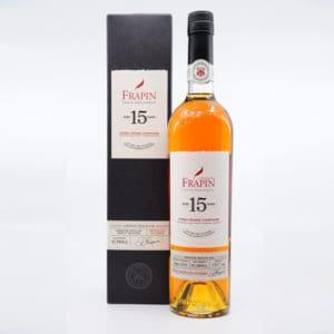 Cognac Frapin 15y + GB 45,3% Vol. 0,7l Cognac Cognac