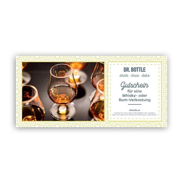 Gutschein Whisky- oder Rum-Tasting Drink Gutschein
