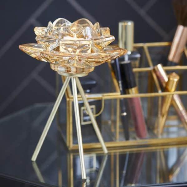 Teelichthalter Symphonie 21cm Dekoration Riverdale