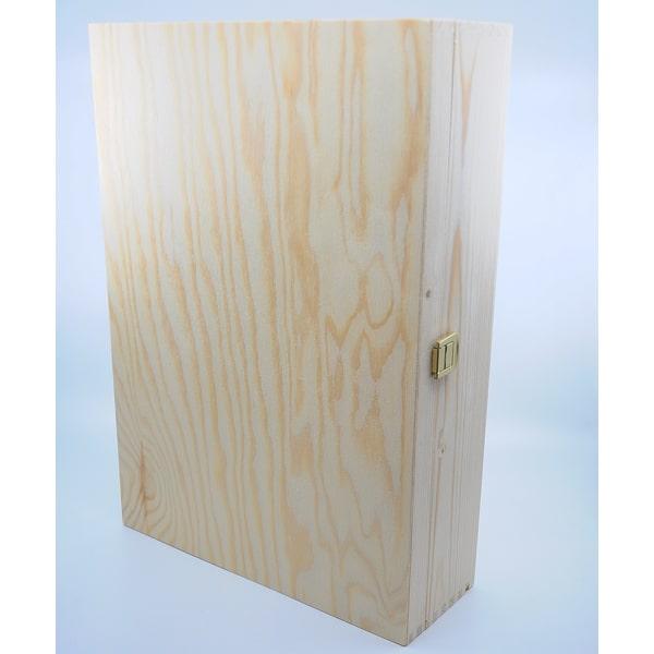 Weinkiste 3er Wein Zubehör Geschenksbox Holz