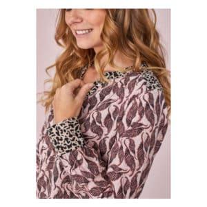 Langarmbluse Blätterranken Angebote DRESS Lieblingsstück Langarmbluse Blätterranken