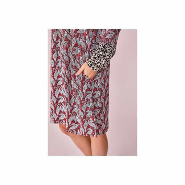 Langarmkleid Blätterranken Angebote DRESS Lieblingsstück Langarmkleid Blätterranken