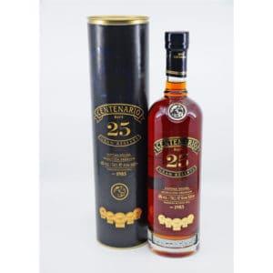 Ron Centenario 25y + GB 40% Vol. 0,7l Rum Centenario