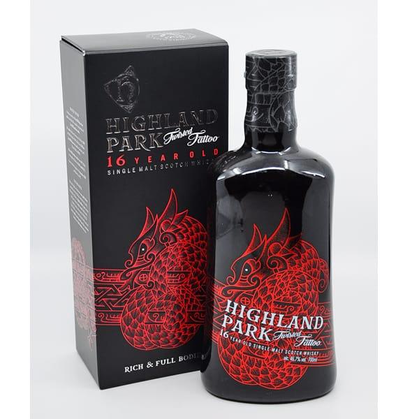 Highland Park 16y TWISTED TATTOO + GB 46,7% Vol. 0,7l