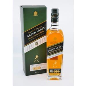 Johnnie Walker Green Label 15y + GB 43% Vol. 0,7l Whisk(e)y Blended Whiskey