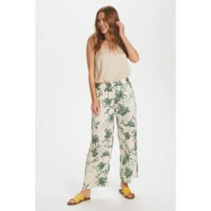 Pants Summer Palm Print Angebote DRESS Hose