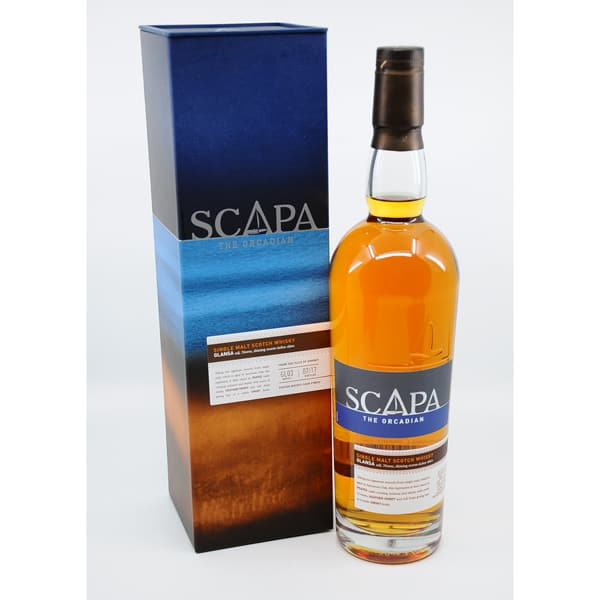 Scapa The Orcadian GLANSA + GB 40% Vol. 0,7l