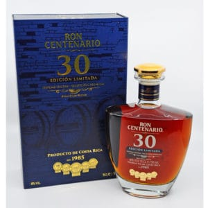 Ron Centenario 30y + GB 40% Vol. 0,7l Raritäten Centenario