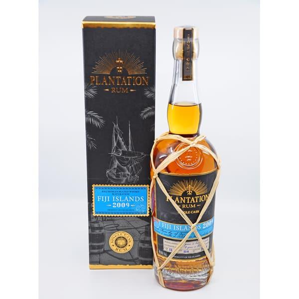 Plantation Rum FIJI Islands KILCHOMAN Cask 2009 + GB 49,6% Vol. 0,7l