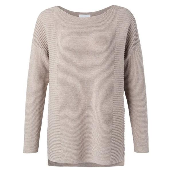 Pullover aus Baumwolle mit kleinen Seitenschlitzen Angebote DRESS Pullover