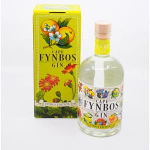 Cape Fynbos Gin Citrus + GB 43% Vol. 0,5l Gin Cape Fynbos Gin