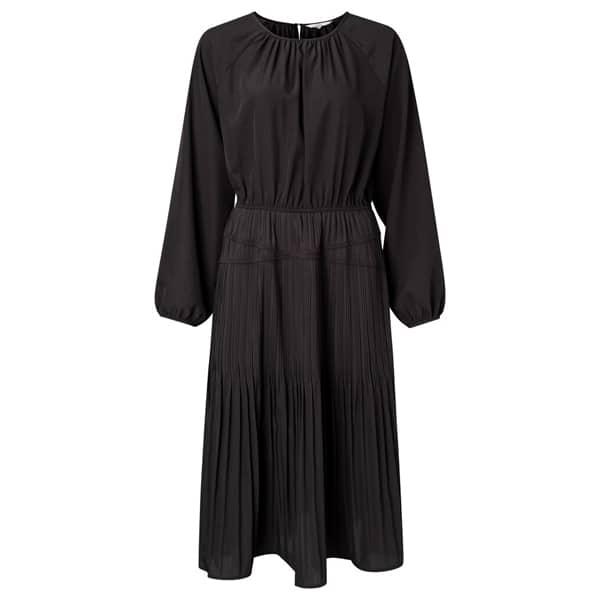 Drapiertes Kleid mit Falten