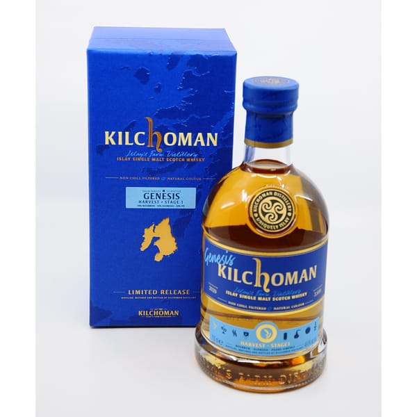 Kilchoman Genesis Harvest Stage 1 + GB 48,6% Vol. 0,7l Raritäten Isle of Islay