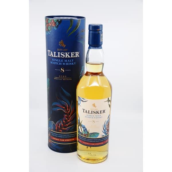 Talisker 8y Special Release 2020 + GB 57,9% Vol. 0,7l Raritäten Isle of Skye