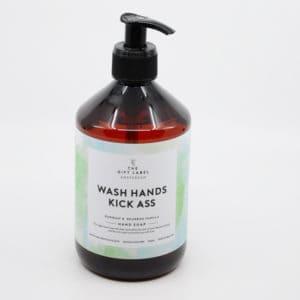 Handseife WASH HANDS KICK ASS 500ml Geschenke Handseife
