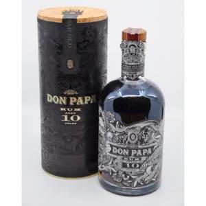 Don Papa 10y + GB 43% Vol. 0,7l Raritäten Don Papa Rum