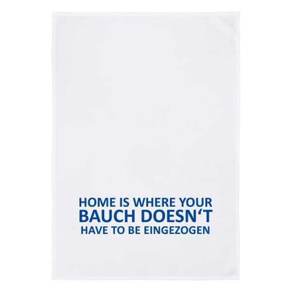 Geschirrtuch Home is...