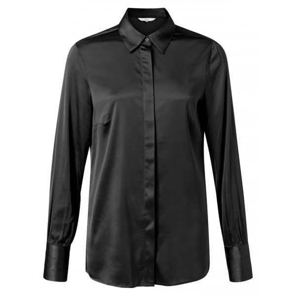 Satin Bluse mit Manschetten Angebote DRESS YAYA The Brand