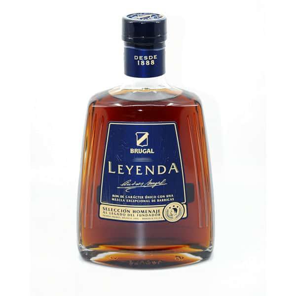 Brugal LEYENDA + GB 38% Vol. 0,7l Rum Brugal