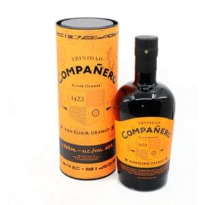 Compañero Elixir Orange + GB 40% Vol. 0,7l Rum Companero