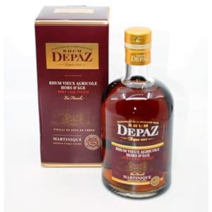 Depaz Hors d´Age Port Cask Finish + GB 45% Vol. 0,7l Rum Martinique