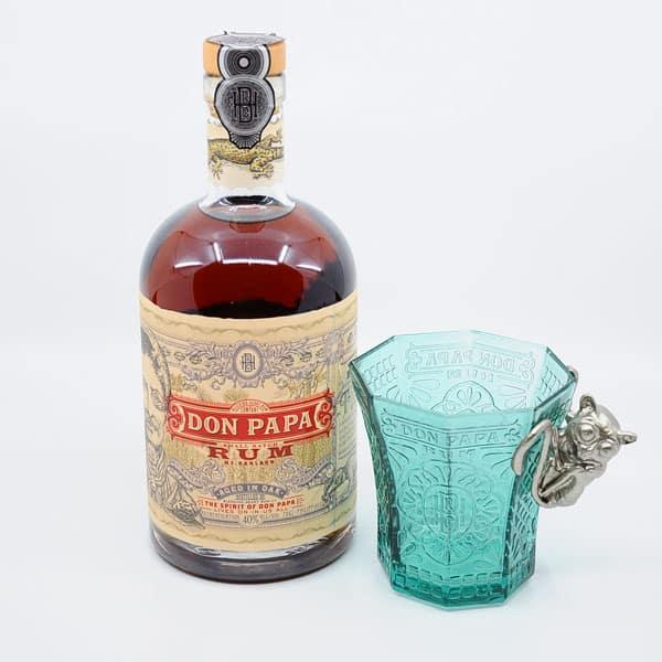 Don Papa Set mit Glas Rum Don Papa