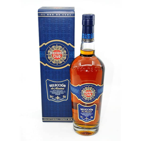 Havana Club Seleccion de Maestros + GB 45% Vol. 0,7l Rum Kuba